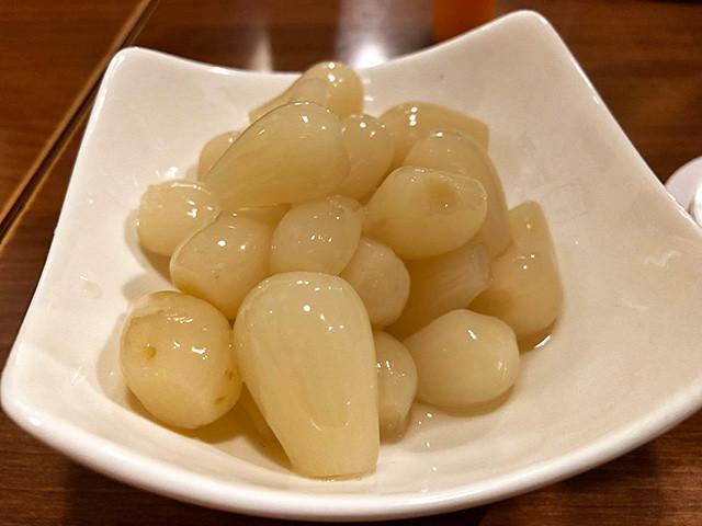Pickled Scallion