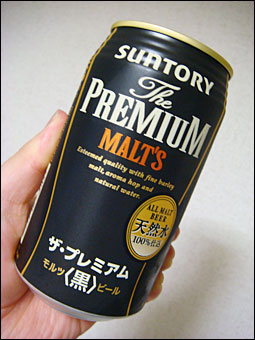 The PREMIUM MALT'S Black
