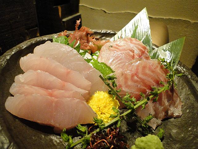Japanese Seaperch and Chicken Grunt
