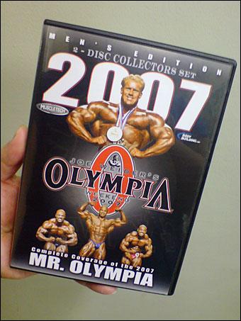 Mr. Olympia 2007 DVD