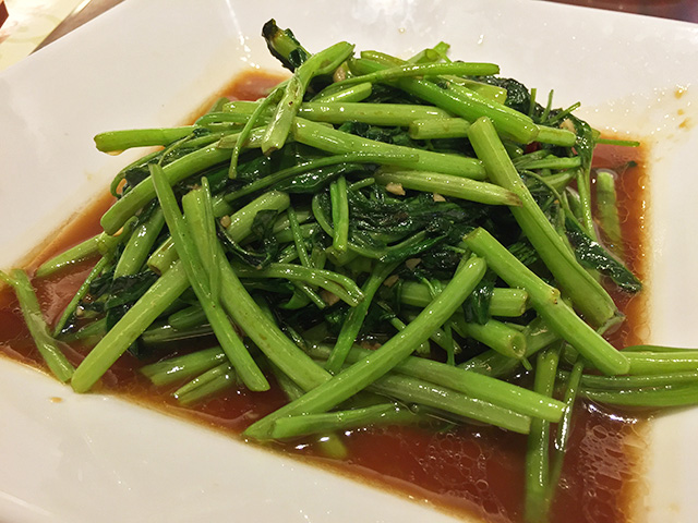 Stir-fried Water Spinach