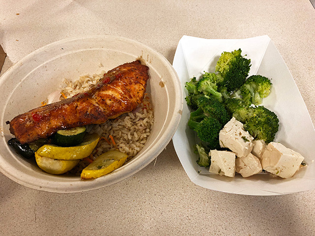 Lunch of Day 2 at NIH