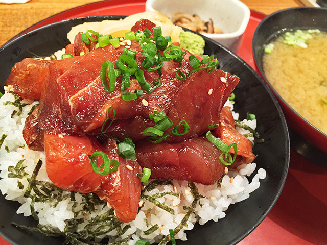 Seasoned Seafood Rice Bowl