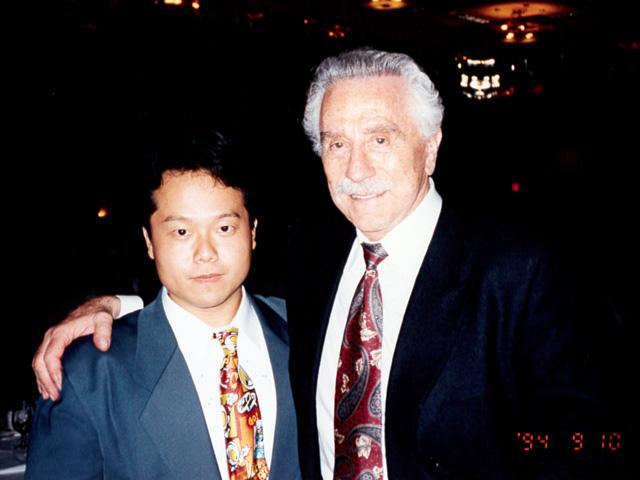 Joe Weider and Dr. MaCHO