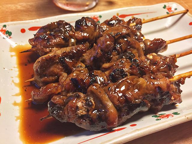 Grilled Eel Guts