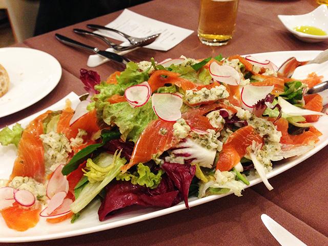 Homemade Smoked Salmon Salad