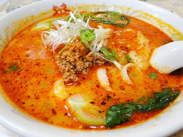 Spicy Mala Noodle Soup