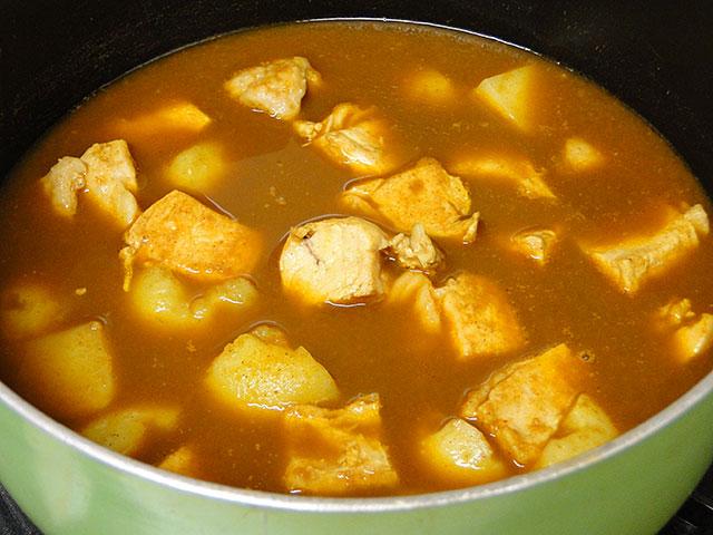 Chicken Indian Curry of Delhi