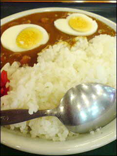 Petit Curry with Hard-Boiled Egg