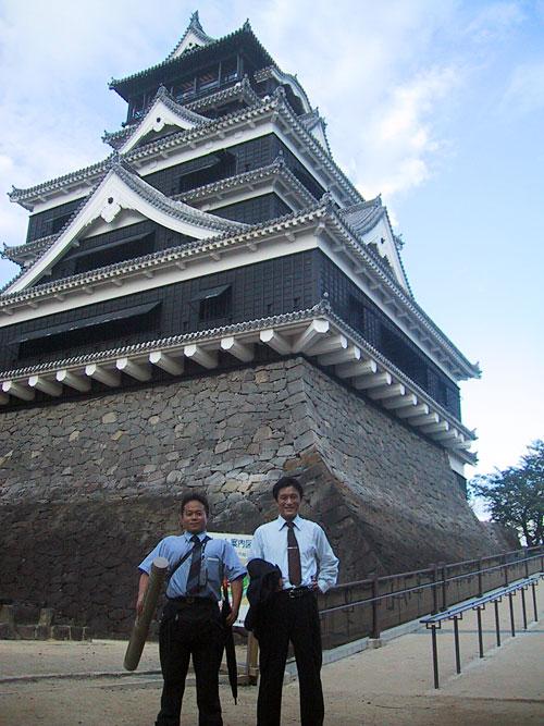 Kumamoto Castle in October 2003