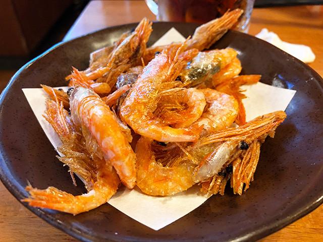 Deep-Fried Northern Shrimp