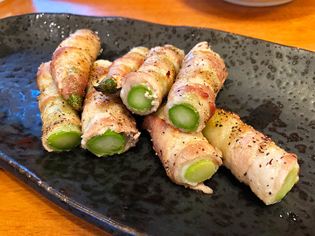 Asparagus Wrapped with Pork