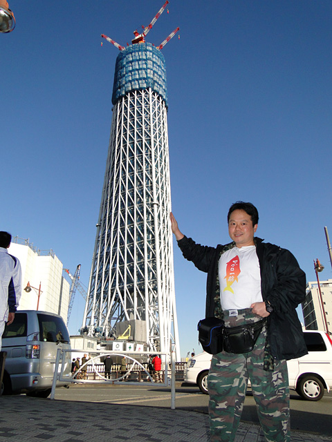 TOKYO SKY TREE and Dr. MaCHO