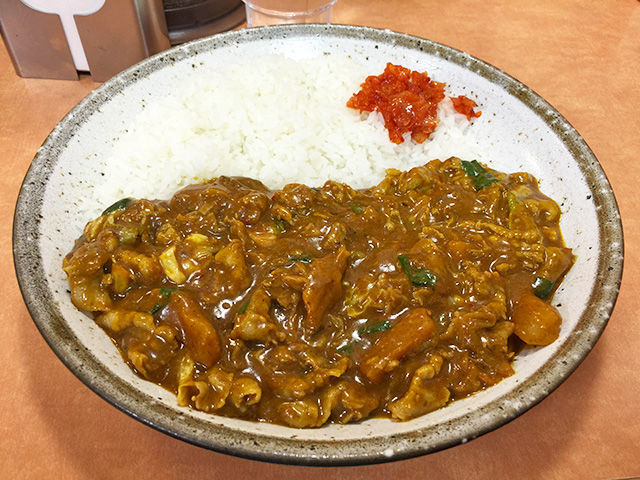 Pork and 3 Flavor Kimchi Curry