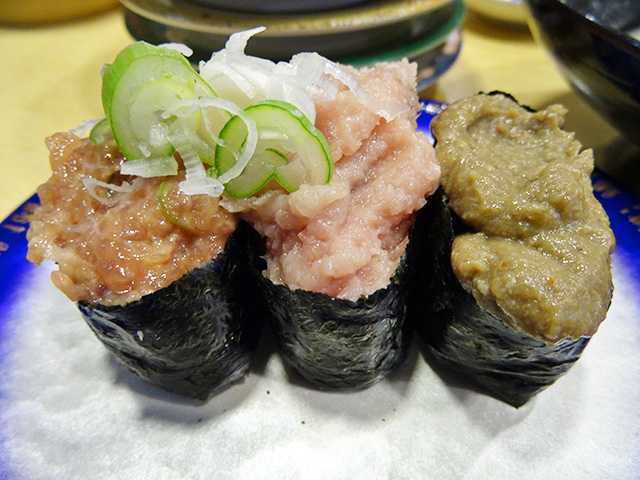 3 Assorted Gunkan-Maki