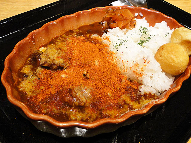 Adult Beef Curry with Cheese