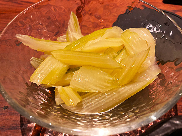 Homemade Quick Pickled Celery