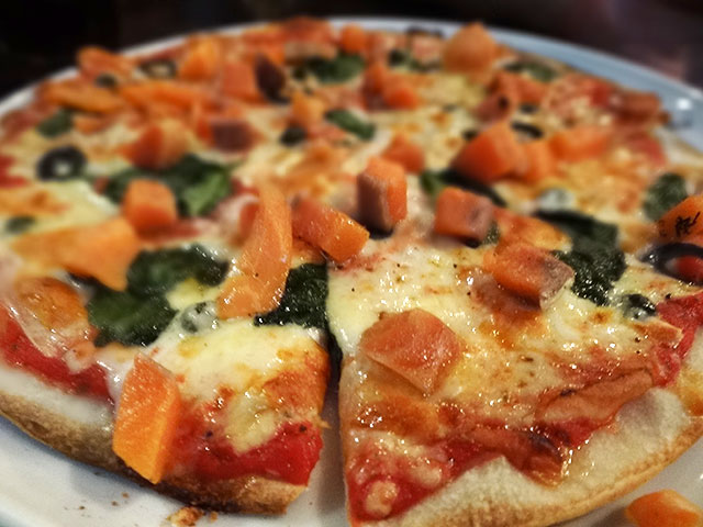 Homemade Smoked Salmon Pizza