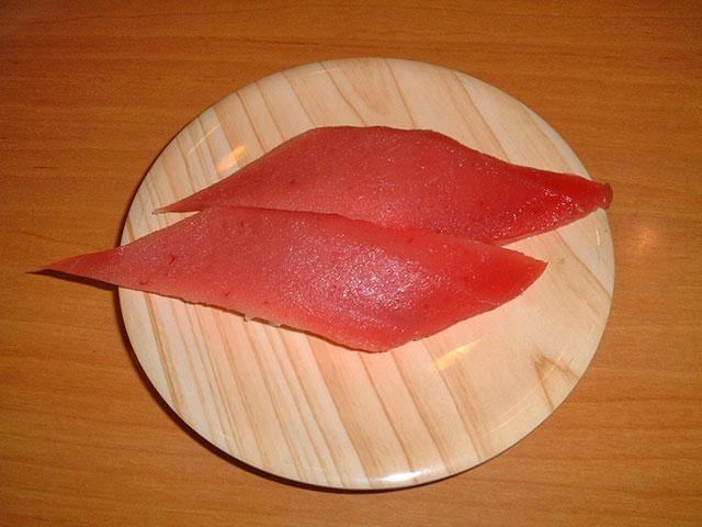 Tuna Nigiri Sushi of Nihonkai
