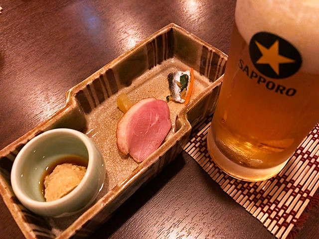 Draft Beer with Appetizers