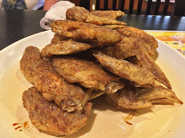 Deep-Fried Chicken Wings