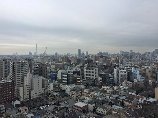 Landscape from Hakusan Sky Hall