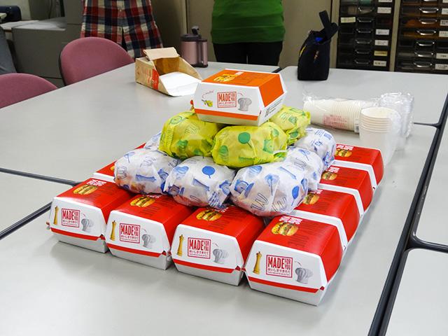 30 Hamburgers