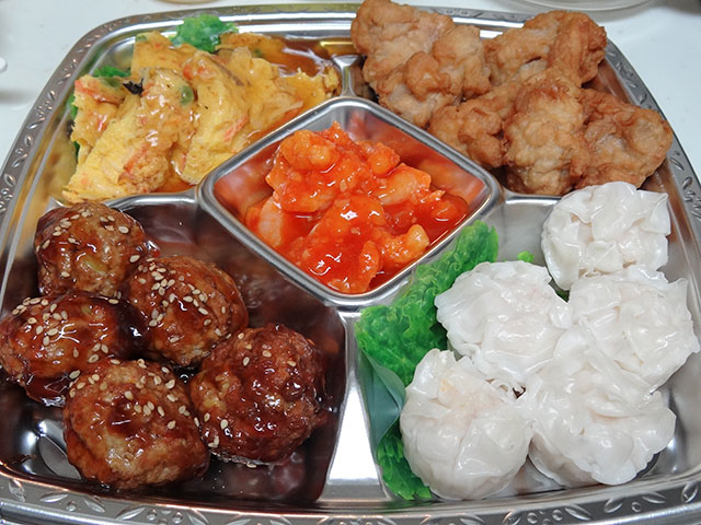 Assorted Chinese Foods