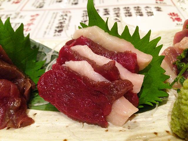 Horse Meat Sashimi