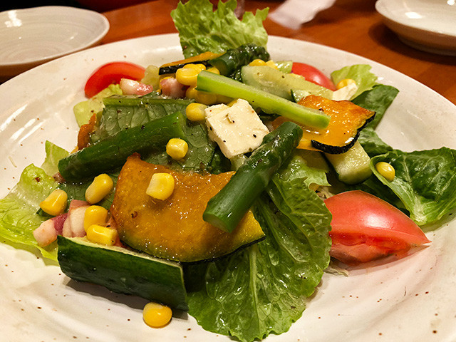 Ingredients Plenty Vegetable Salad