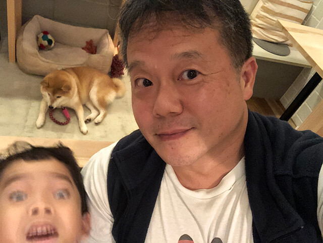 Dr. MaCHO with Son