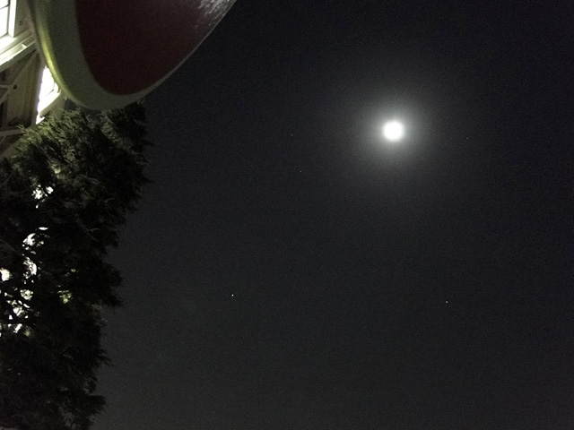 Moon and Mars