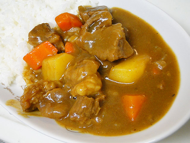 Homemade Beef Fibrous Curry