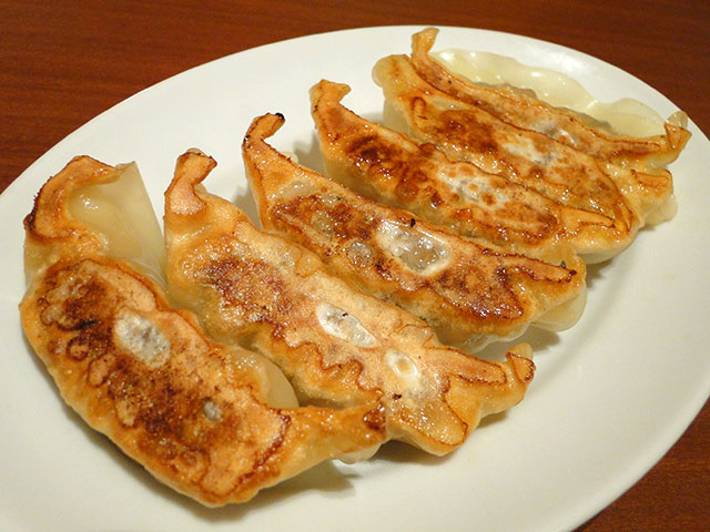 Pan-fried Pork Dumplings