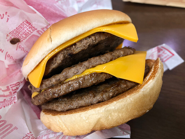 Double Double Cheeseburger