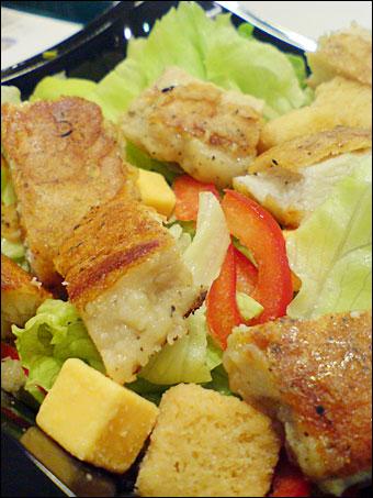 Salad Dish Grilled Chicken
