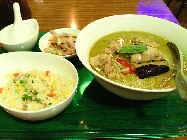 Green Curry Noodle Set