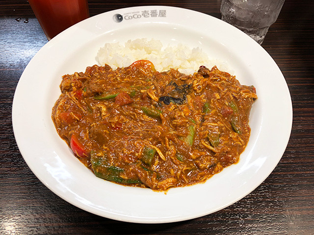 10th Chicken and Summer Vegetables Curry