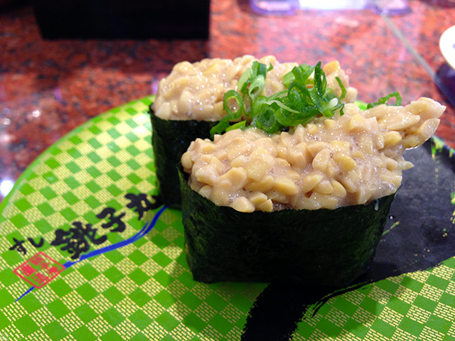 Natto Gunkan-Maki of Choshi-Maru