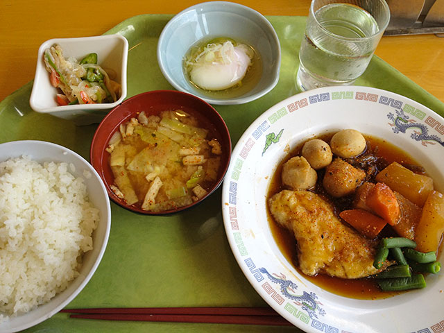 Set Meal B with Soft-Boiled Egg