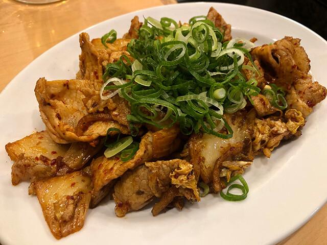 Fried Pork with Kimchi