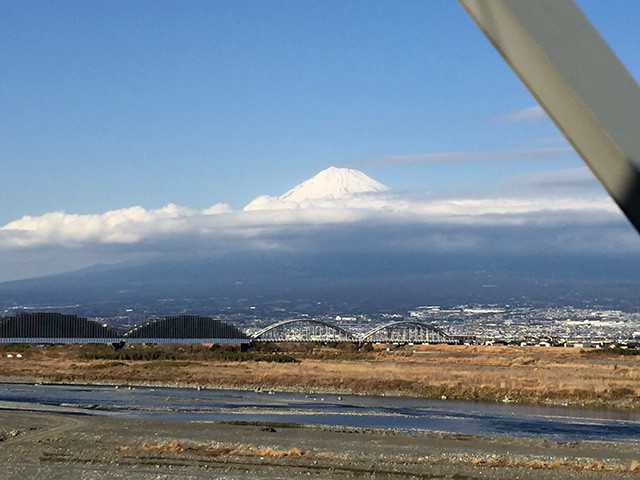 Mt. Fuji from Shinkansen