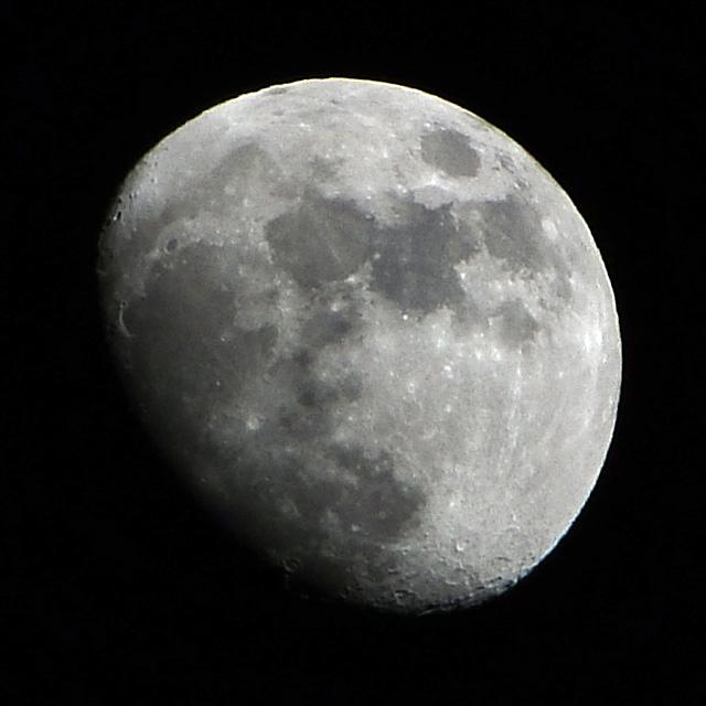 Moon in Anaheim