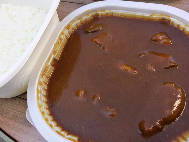 Beef Curry of 7-Eleven