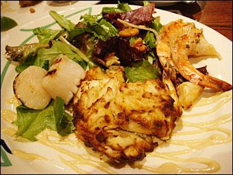 Crab Cake Dish