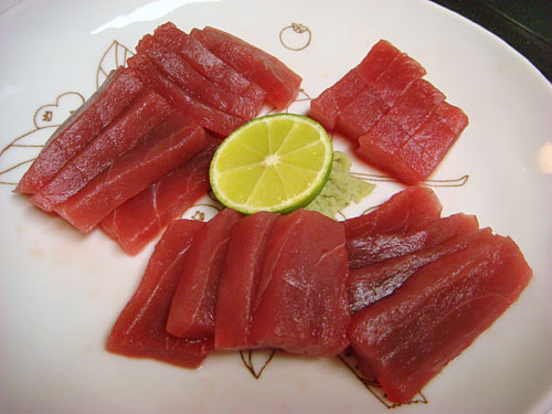 Tuna Sashimi with Sudachi