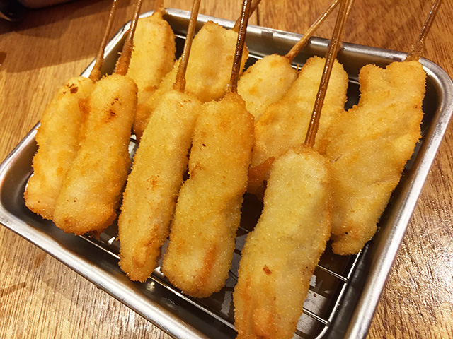Chicken Kushikatsu