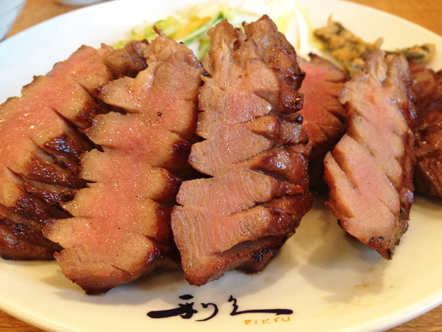Broiled Thick-Sliced Ox Tongue