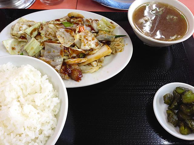 Stir-Fried Beef and Vegetables Set