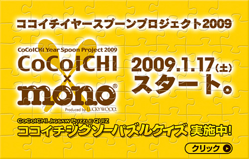 CoCoICHI Year Spoon Project 2009